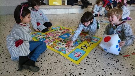 Racons de joc a les aules de Primària del Cor de Maria