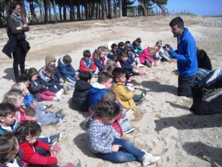 ELS ALUMNES D'EDUCACIÓ INFANTIL VAN DE COLÒNIES