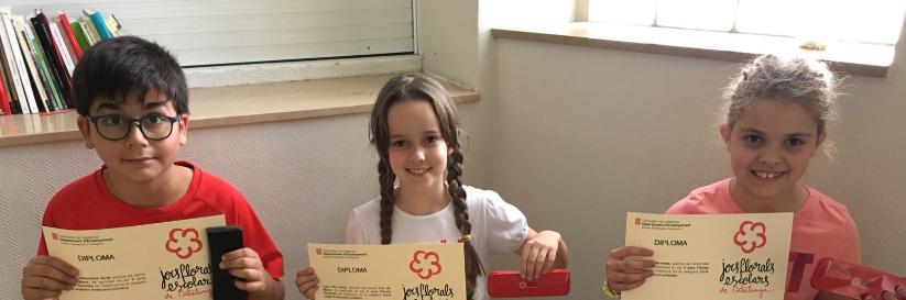 Laura Inglés, Jordi Rabadà i Laia Vila participen als Jocs Florals de Catalunya