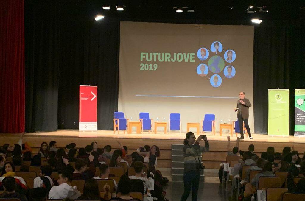 """4t d'ESO assisteixen a la jornada """"Futur jove 2019"""""""